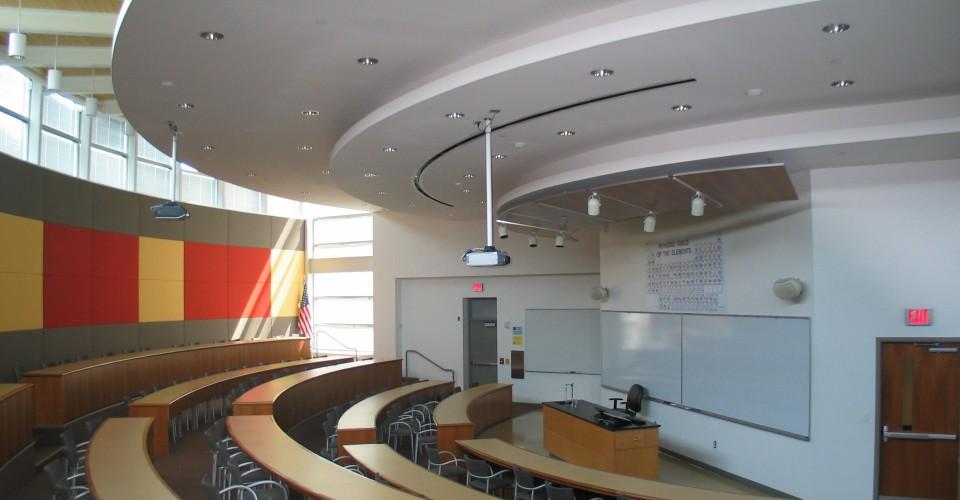 Vermeer Science Center classroom